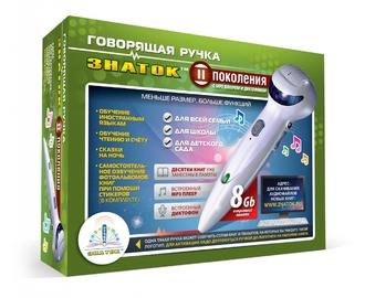 Набор ЗНАТОК ZP-70695 Говорящая ручка 8Гб + аудиостикеры (зеленая коробка)