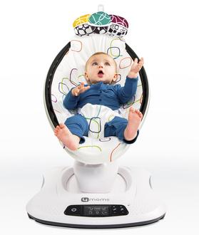 Электронное кресло-качалка 4Moms Mamaroo 4.0(Мультиплюш)
