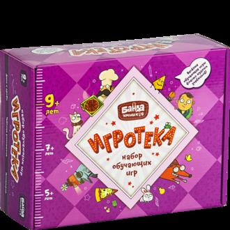 Развивающая настольная игра БАНДА УМНИКОВ УМ082 Игротека 9+ (настольные игры