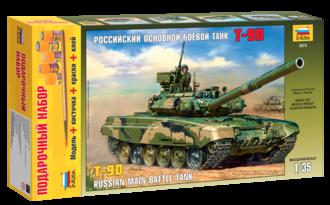 Модель для склеивания ZVEZDA 3573П Танк