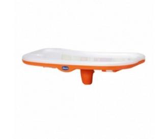 Столик к стульчику Chicco Polly New c разделителем (оранжевый)