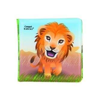 Книжка с пищалкой Canpol 6+ мес., арт. 2/083, рисунок: львенок