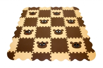 Напольная мозаика-пазл ECO COVER 33МП2,7/П Панда (с бортиками)