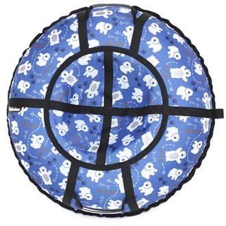 Тюбинг Hubster Люкс Pro Мишки синие