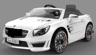 Машинка на аккумуляторе, 6V7AH, 1 мотор, р/у 2,4GHz, колеса EVA, свет/звук, MP3, USB, открыв.двери, разм. 117.7*69.5*45.3, цвет: черный