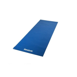 Коврик для йоги Reebok (синий, 4мм)