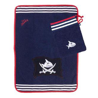 Полотенце с варежкой Capt'n Sharky 93364