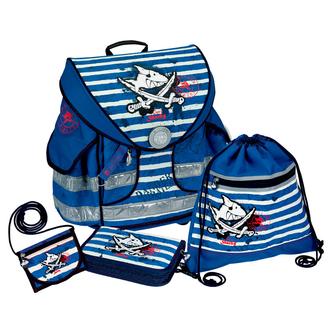 Школьный ранец Capt'n Sharky Ergo Style plus с наполнением 10589