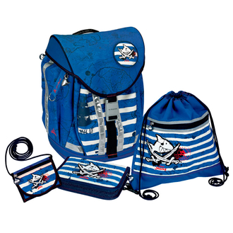 Школьный рюкзак Capt'n Sharky Flex Style с наполнением 10600