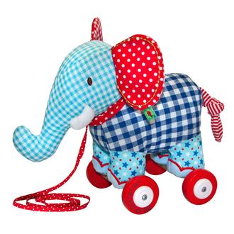 Слоненок-каталка Baby Glück 90188