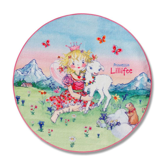 Ковёр Prinzessin Lillifee Ø130см 102-130R