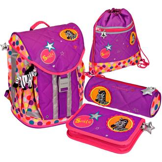 Школьный рюкзак Bunte Punkte Flex Style с наполнением 11870