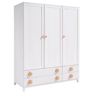 Шкаф платяной трехдверный Pp-159 (цвет: 33 blue-pistachio, размер: .)