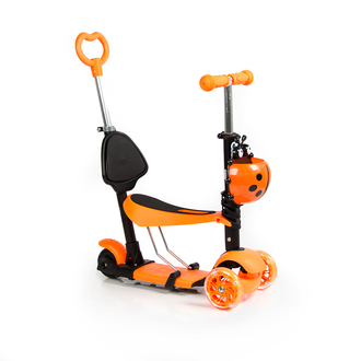 Детский самокат трехколесный VipLex ST-M08 оранжевый