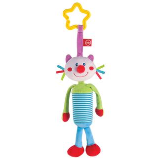 Подвесная игрушка-колокольчик Кот