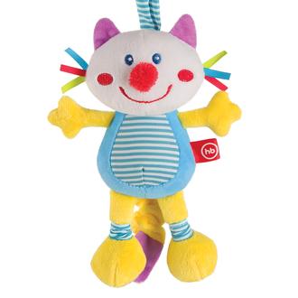 Подвесная игрушка-растяжка с вибрацией Кот