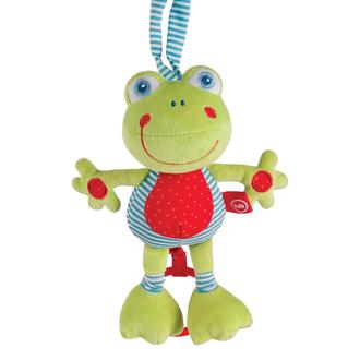 Подвесная музыкальная игрушка-растяжка Лягушка