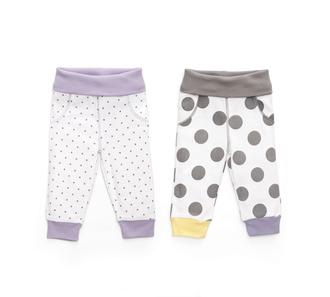 Трикотажные брюки (набор 2 шт.) size 56