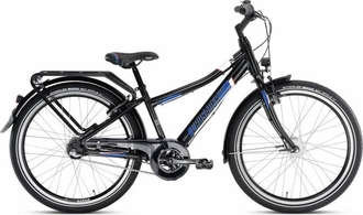 Двухколесный велосипед Puky Crusader 24-3 Alu light 4824 black черный