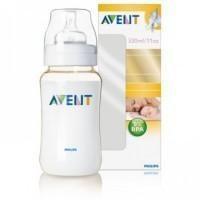 Бутылочка для кормления Avent 330 мл, 1 шт., Pp 80031