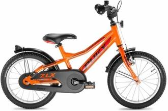 Двухколесный велосипед Puky ZLX 16 Alu 4272 orange оранжевый