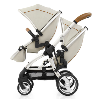 Прогулочный блок для второго ребенка Egg Tandem Seat Prosecco & Champagne Chassis