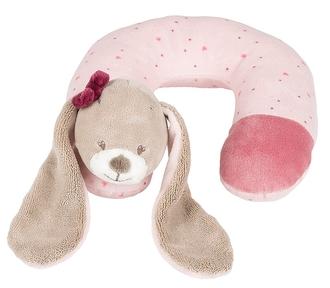 Подушка-подголовник Nattou Neck pillow Nina, Jade Lili Кролик 987394