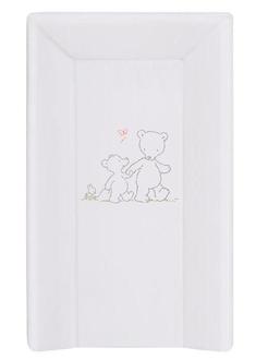 Пеленальный матрац на кровать Ceba Baby 80 см на жёстком основании(W-211-004-260 Papa Bear Grey)