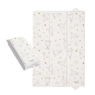 Пеленальный матрац Ceba Baby 40х60 для путешествий(W-305-903-100 Dream Roll Over White)