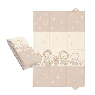 Пеленальный матрац Ceba Baby 40х60 для путешествий(W-305-050-230 Ducklings Brown)