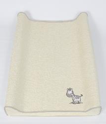 Простынь Ceba Baby на резинке на пеленальный матрасик 50x70 см(Zebra grey W-820-002-260)