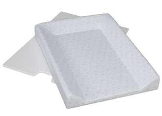 Поворотная пеленальная доска с пластиковым матрасиком Micuna CP-1434(White Цвет матрасика: Grey/Whit