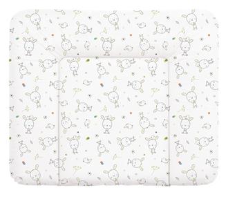 Пеленальный матрац 70x85 см Ceba Baby мягкий на комод(W-134-903-100 Dream Roll-Over White)