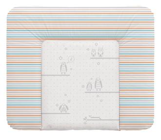 Пеленальный матрац 70x85 см Ceba Baby мягкий на комод(W-134-044-260 Owls Grey)