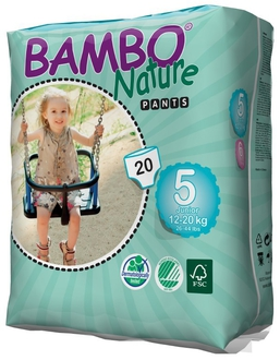 Трусики Bambo Nature Pants Junior 12-20 кг (20 шт)