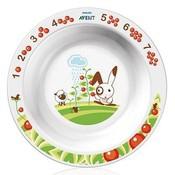 Глубокая тарелка Avent 450 мл, 12+, арт. 65620