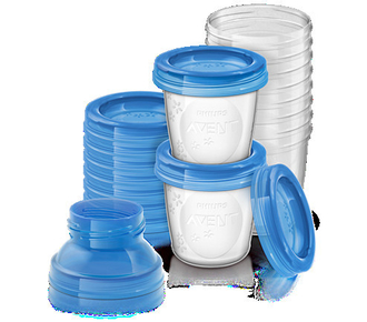 Контейнеры Avent для хранения грудного молока (10 шт х 180 мл) 84470