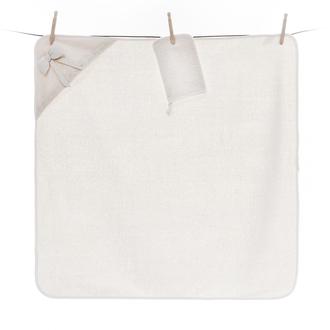 Полотенце-уголок Fiorellino Premium Baby 90x90 см варежка крем