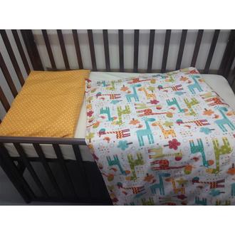 Комплект постельного белья MARELE Жирафы