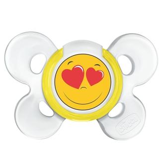 Пустышка Chicco Physio Comfort Smile, 1 шт., 6-12 мес., сил. 310210200