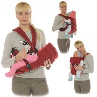 Золотая медаль/Хит! Универсальный анатомический рюкзак-кенгуру