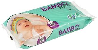 Влажные салфетки Bambo Nature без отдушек №50