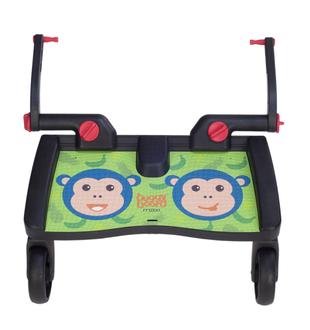 Подножка для второго ребенка Lascal Buggy Board Maxi(Monkey Jungle Green 2762)