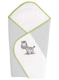 Одеяло-конверт Ceba Baby(W-810-002-260 Zebra Grey вышивка)