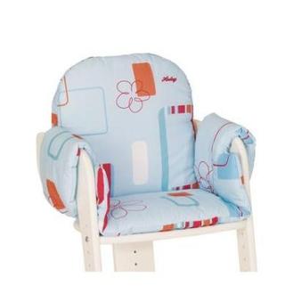 Вкладыш для стула Tipp-Topp, Голубая (цветочные мотивы)