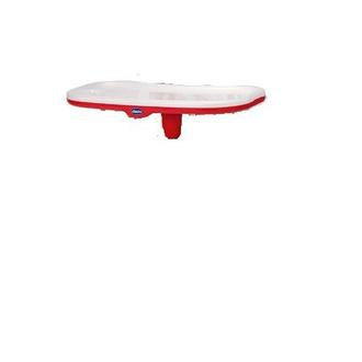 Столик к стульчику Chicco Polly с разделителем цвет красный