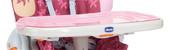 Съемный поднос для стульчика Chicco Polly (розовый)