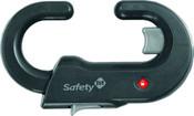 Блокиратор открывания распашной дверцы шкафа Safety 1st (серый)