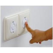 Заглушка для розетки Safety 1st (8 шт) цвет белый