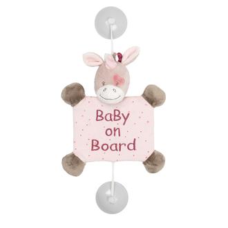 Знак автомобильный Nattou Baby on board Nina, Jade Lili Единорог 987370